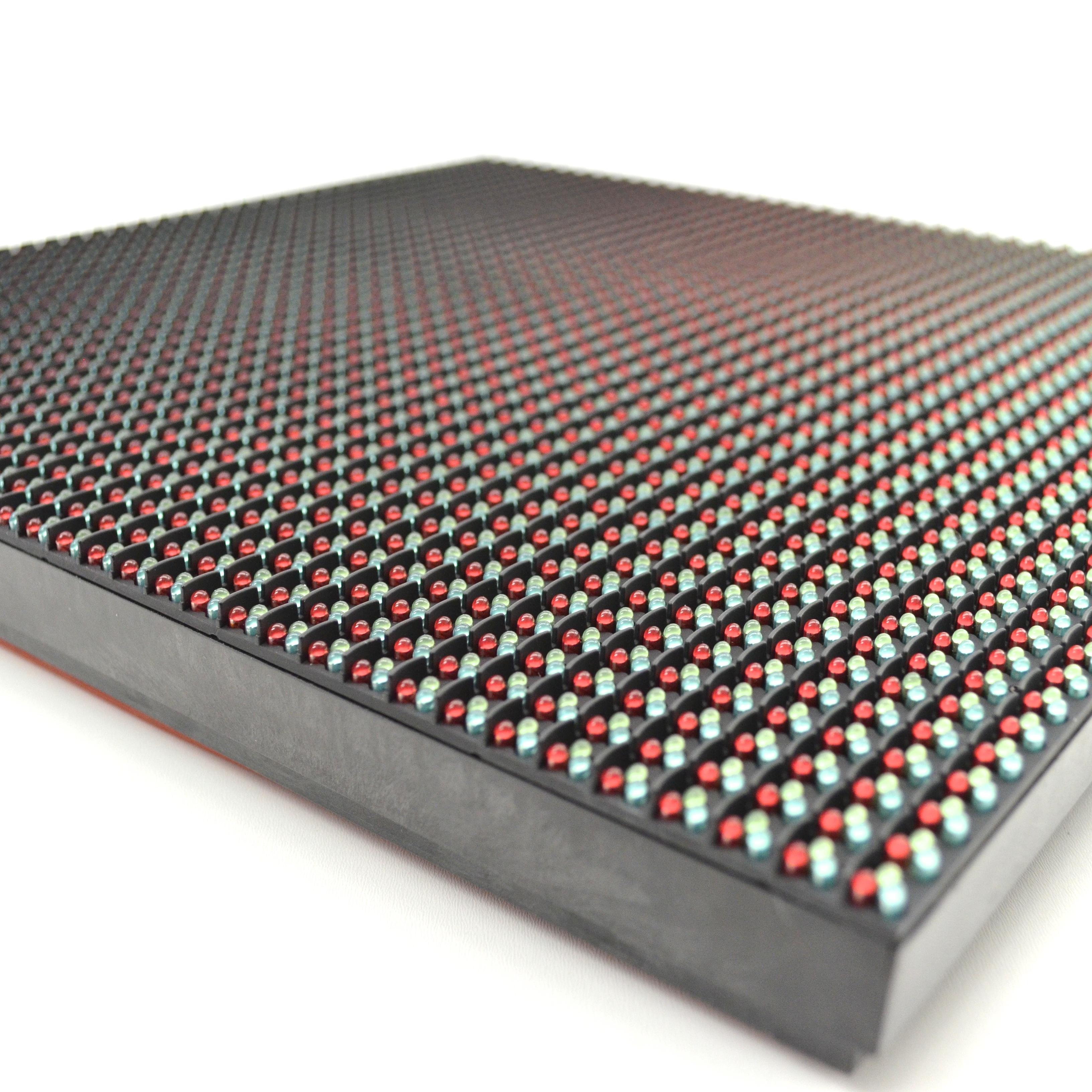 p8 40x40 pixel dip rgb outdoor led module