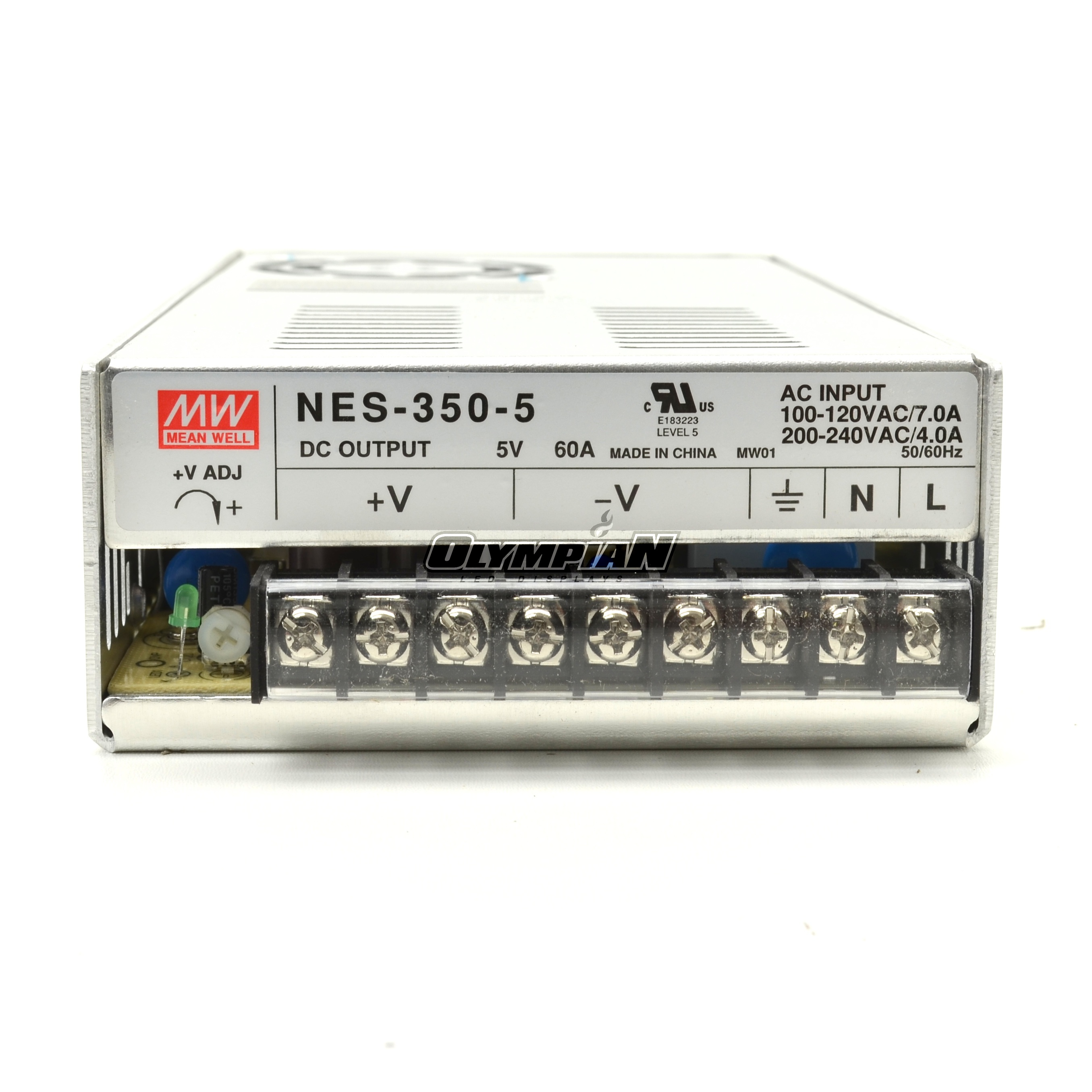 Meanwell Nes 350 5 300w 60a 5v Power Supply