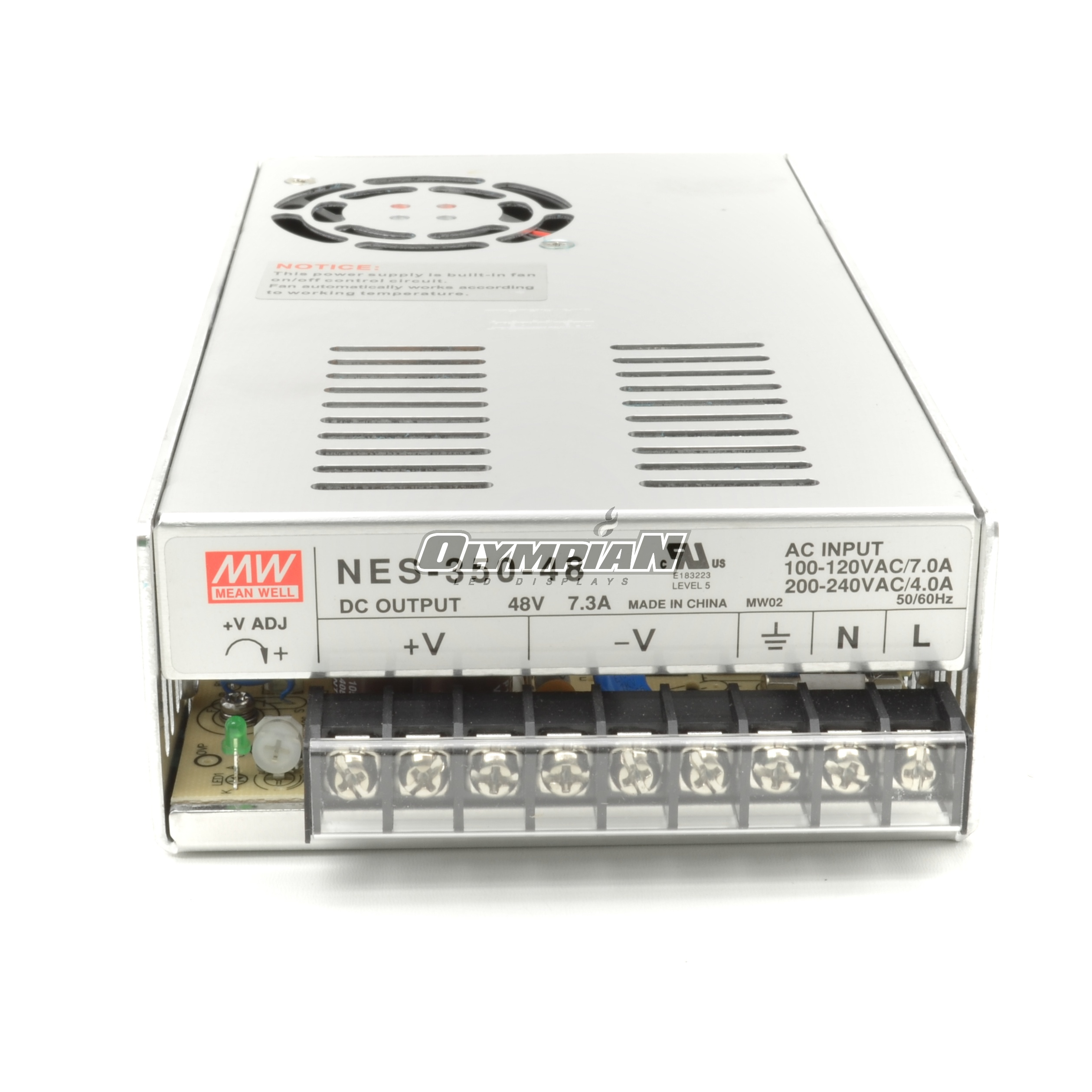 Meanwell NES-350-48 350W 7.3A 48V Power Supply