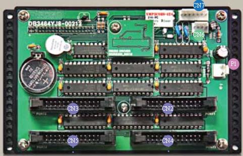 YJMicro DB3464YJ8 LED Controller 1/8 Duty 4 Row 24 Column