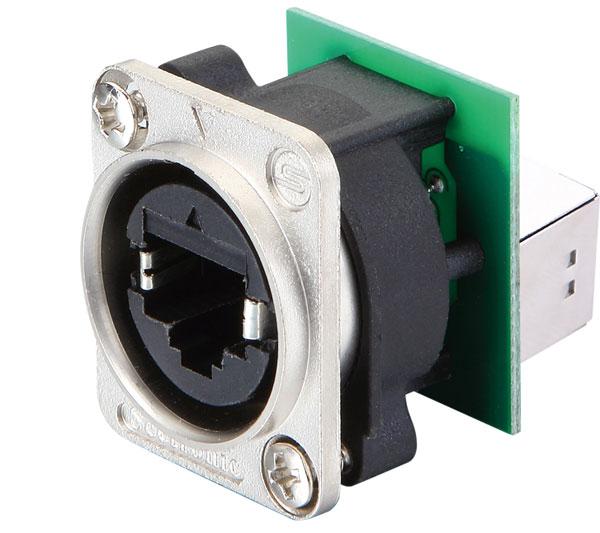 Seetronic Waterproof Etherkon Socket SE8FDY-H-C6 – IP65