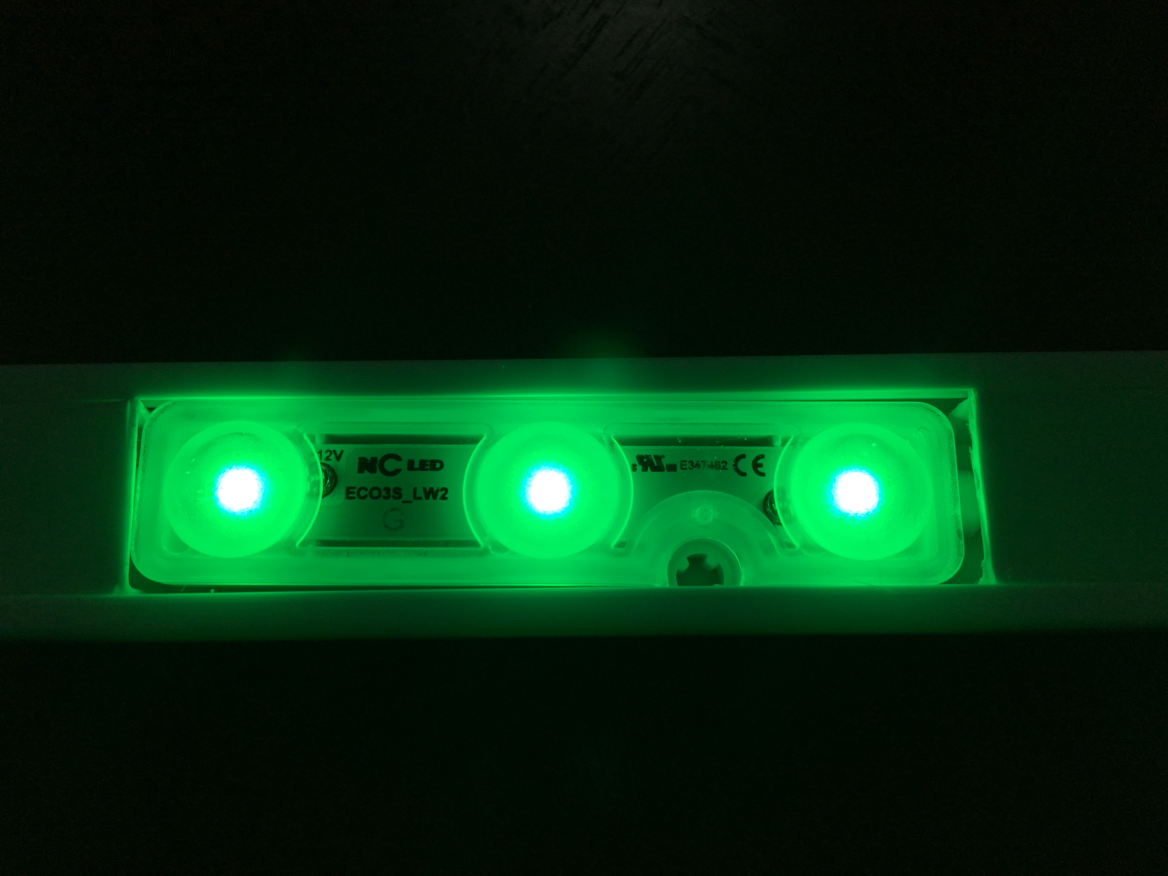NcLED Module Wide Angle LED Green (100 PCs)