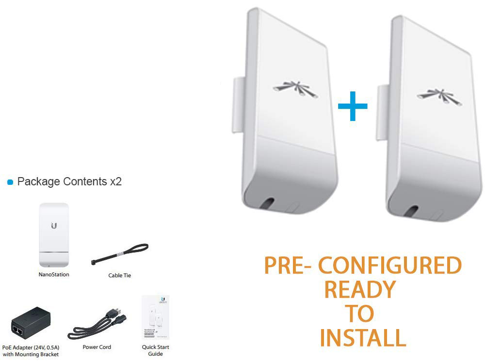 Wireless PTP Solution (Paired Set)
