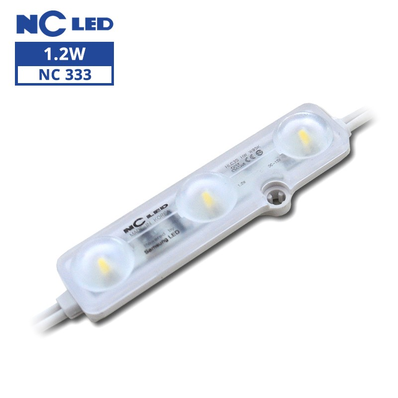 NCLED HLC3S-HW-9500K 1.2W Constant Current Samsung LED Module (100 Pack)