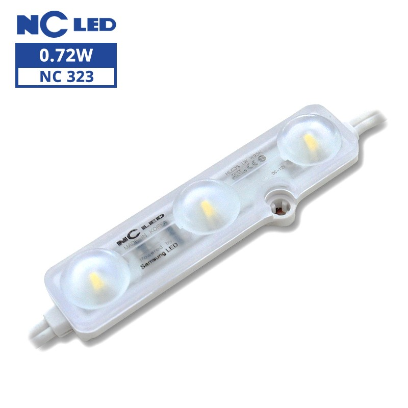 NCLED HLC3S-LW-9500K 0.72W Constant Current Samsung LED Module (100 Pack)