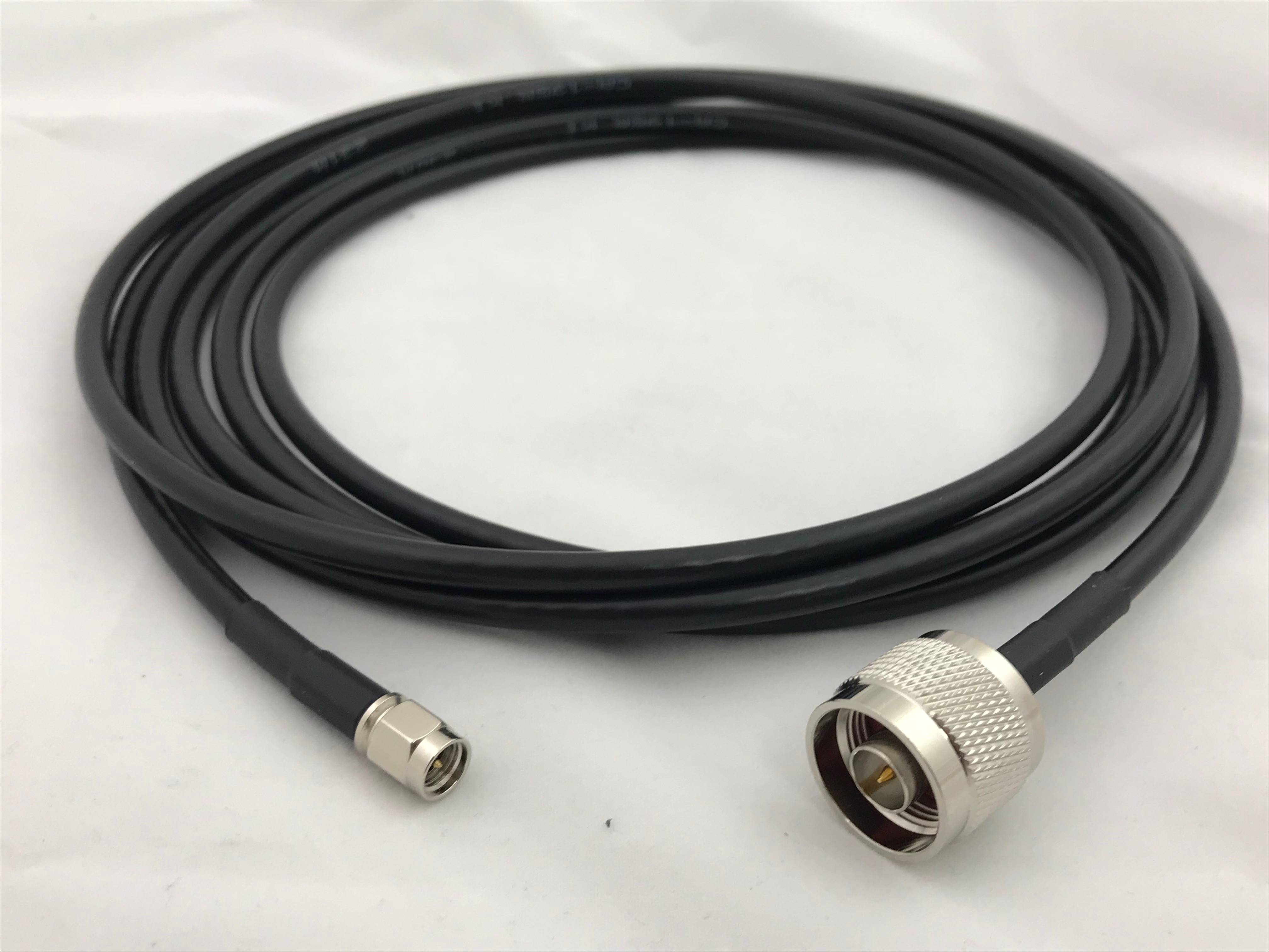SMA-Male to N-Male, Pigtail 20 ft 195-Series