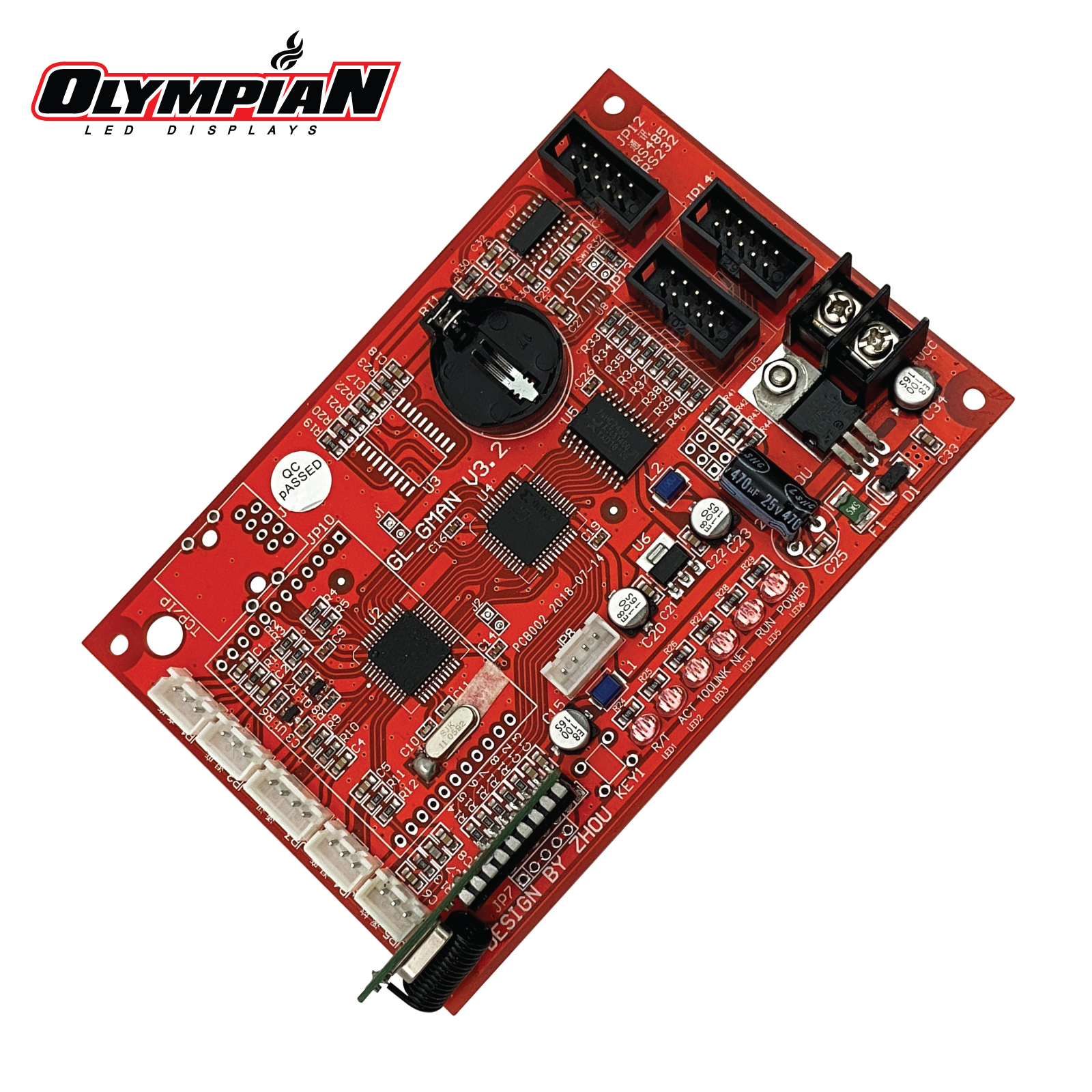 GL_GMAN V3.2 Gas Price Changer Controller Board