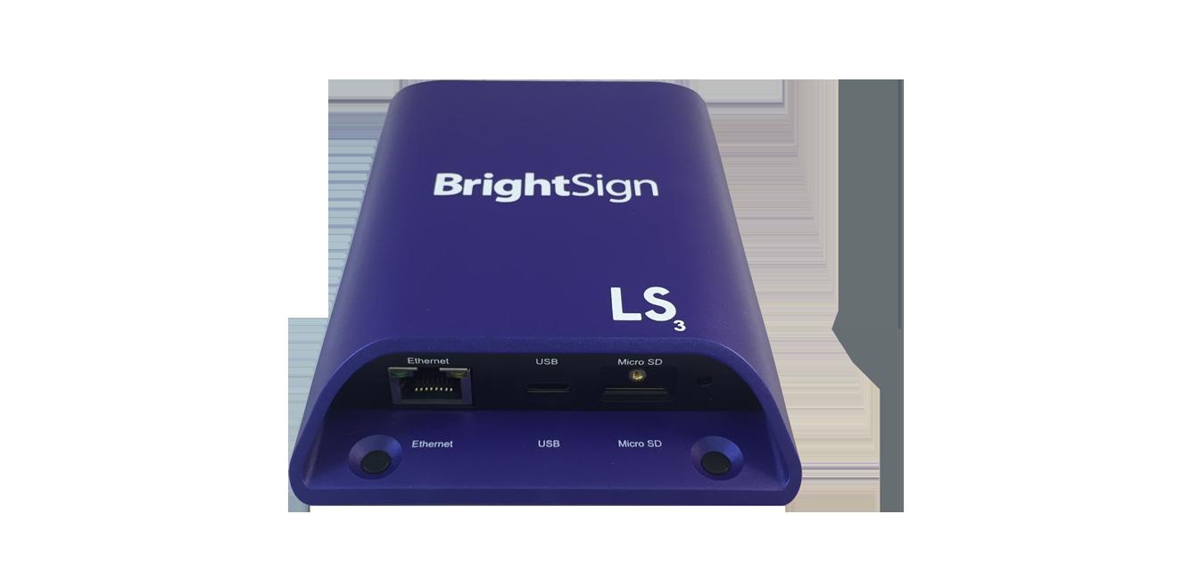 BrightSign LS423   Standard I/O HTML5 Player