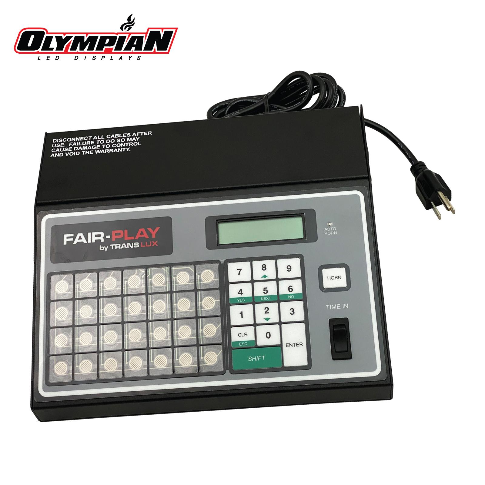 Fair-Play Translux MP70 / MP-70-0111 Scoreboard Control (Non-Wireless)