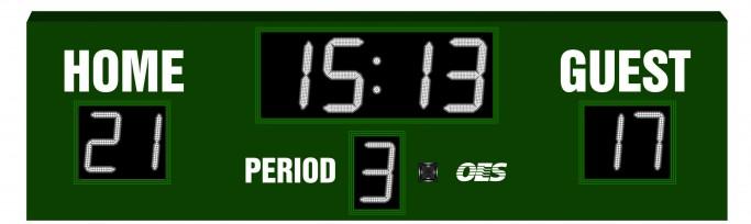 OES Multi-Sport Scoreboard 3600