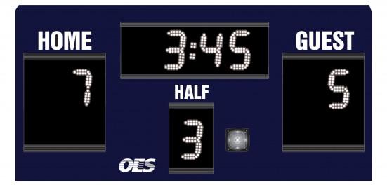 OES Outdoor Soccer Scoreboard 4205