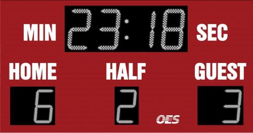 OES Outdoor Soccer Scoreboard 4210
