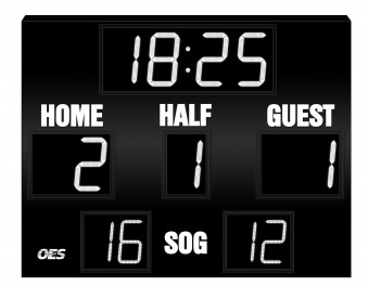 OES Outdoor Soccer Scoreboard 4220