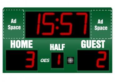 OES Indoor Soccer Scoreboard 4240