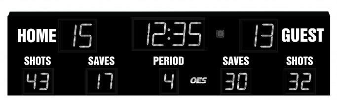 OES Outdoor Soccer Scoreboard 4600