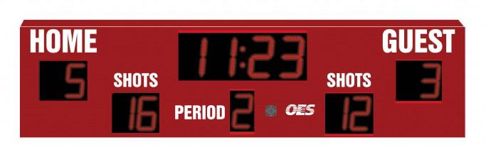 OES Outdoor Soccer Scoreboard 4605