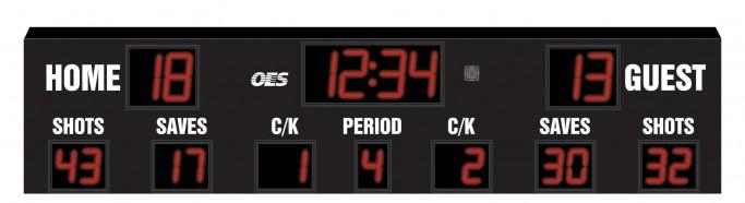 OES Outdoor Soccer Scoreboard 4610