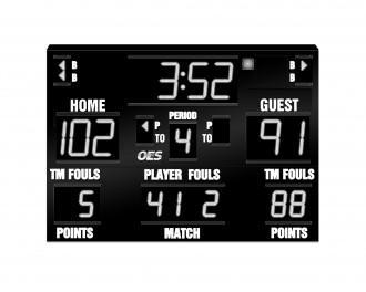 OES Basketball Scoreboard – 5210