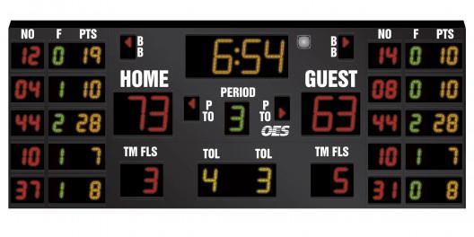 OES Basketball Scoreboard – 5220