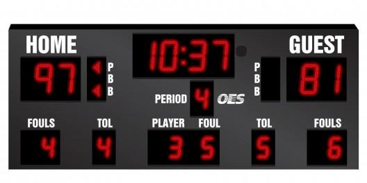 OES Basketball Scoreboard – 5600
