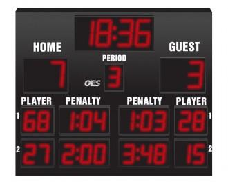 OES Hockey Scoreboard 6200