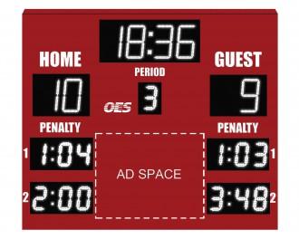 OES Hockey Scoreboard 6210