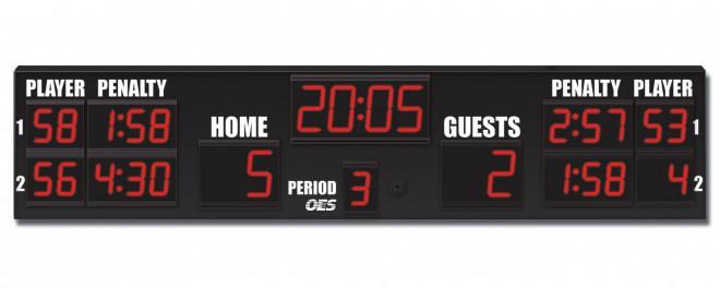 OES Hockey Scoreboard 6225