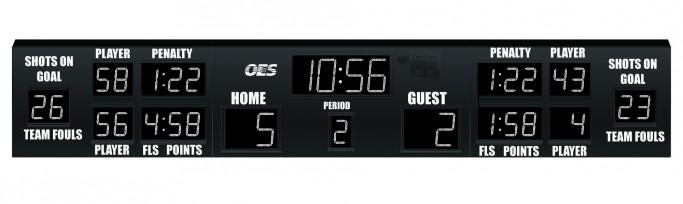 OES Hockey Scoreboard 6229