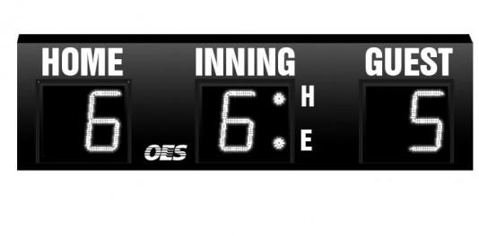 OES Baseball Scoreboard 7100