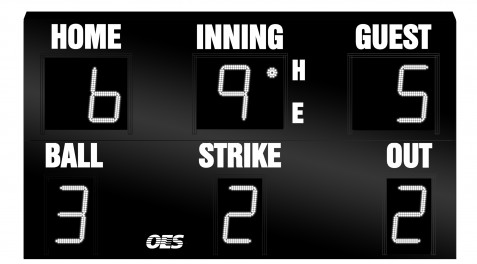 OES Baseball Scoreboard 7200