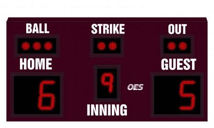 OES Baseball Scoreboard 7600