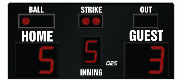 OES Baseball Scoreboard 7615
