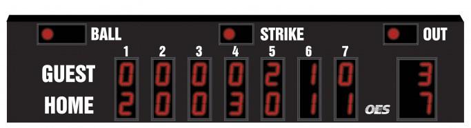 OES Baseball Scoreboard 7630