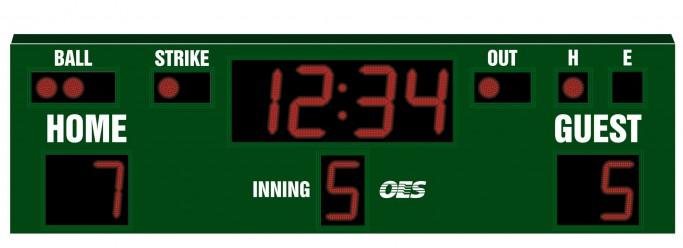 OES Baseball Scoreboard 7635