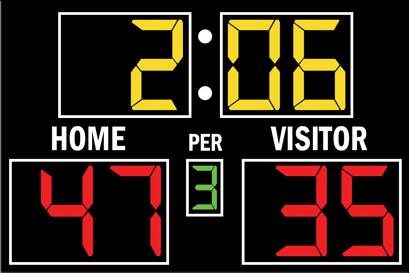 Fair-Play BB-1576-4 Basketball Scoreboard