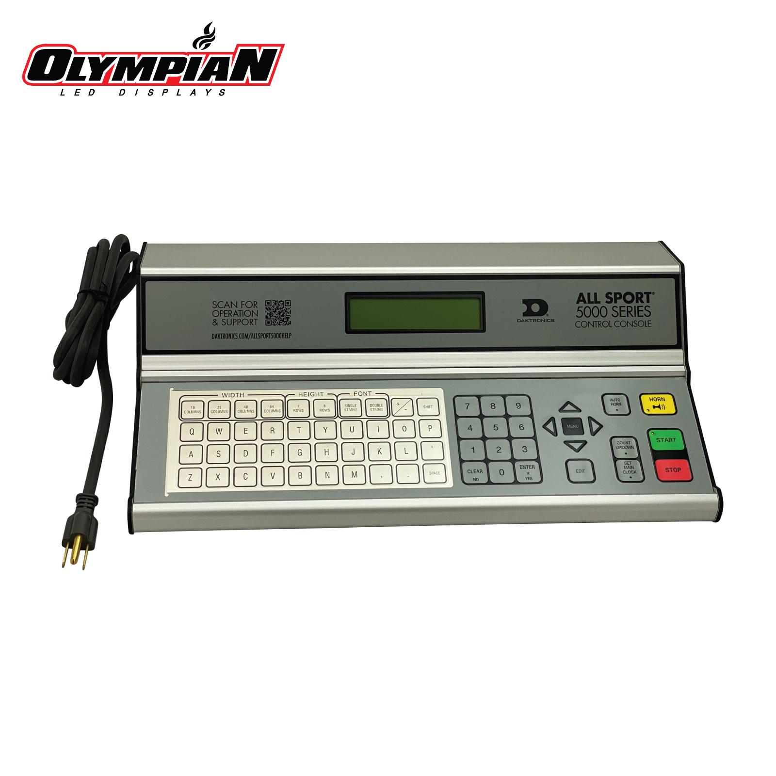 Daktronics All Sport 5000 Series Control Console (0A-1196-0001)